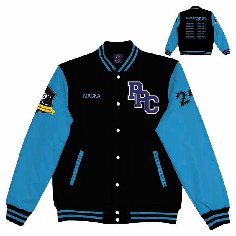 VJCBCS Custom Made Cotton Team Varsity Jackets