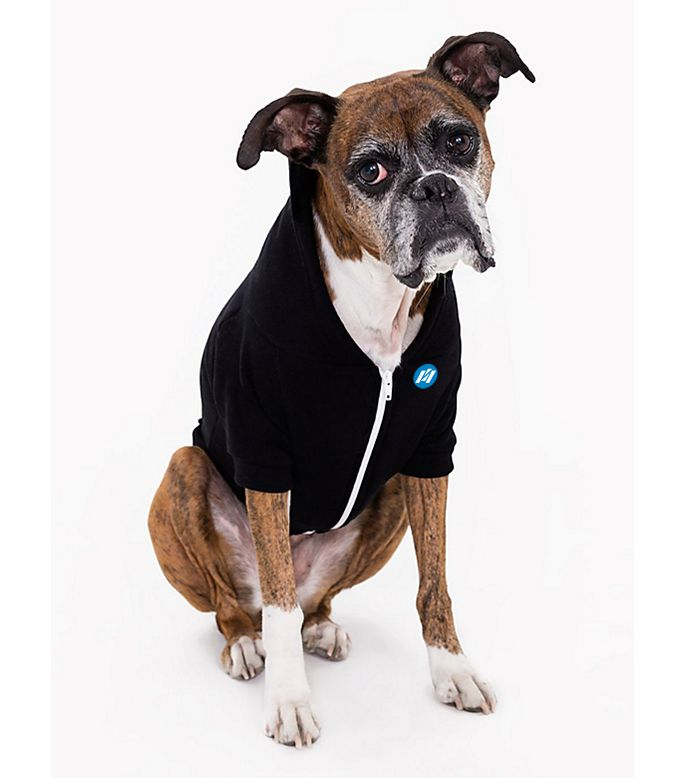 F997W Dog Flex Fleece Hood Branded Hoodies