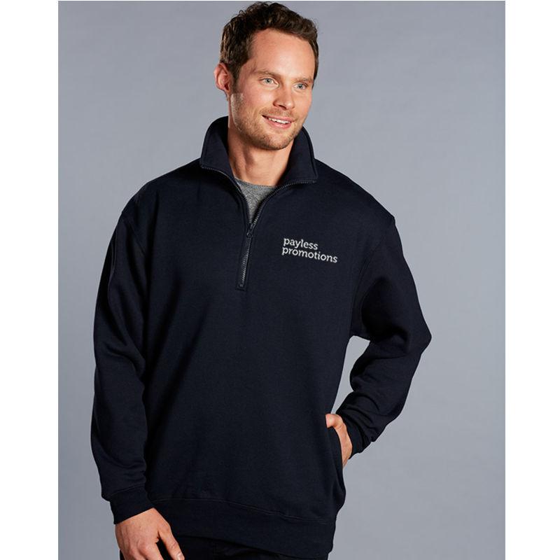 FL02 Falcon 1/2 Zip American Style Fleece Custom Sweatshirts