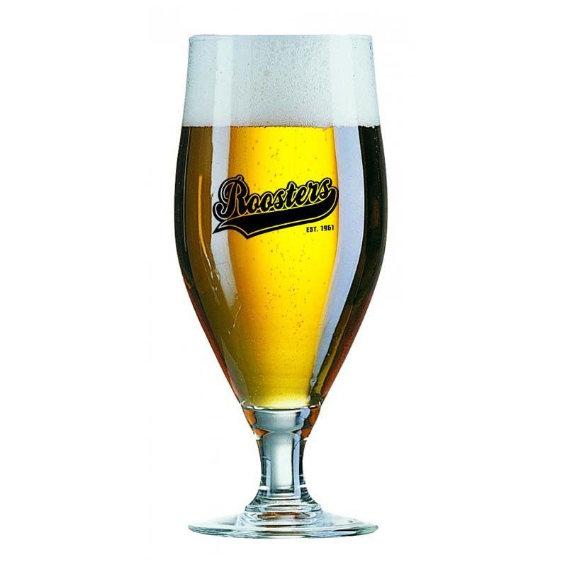 GLBF07134 320ML Cervoise Footed Promotional Beer Glasses