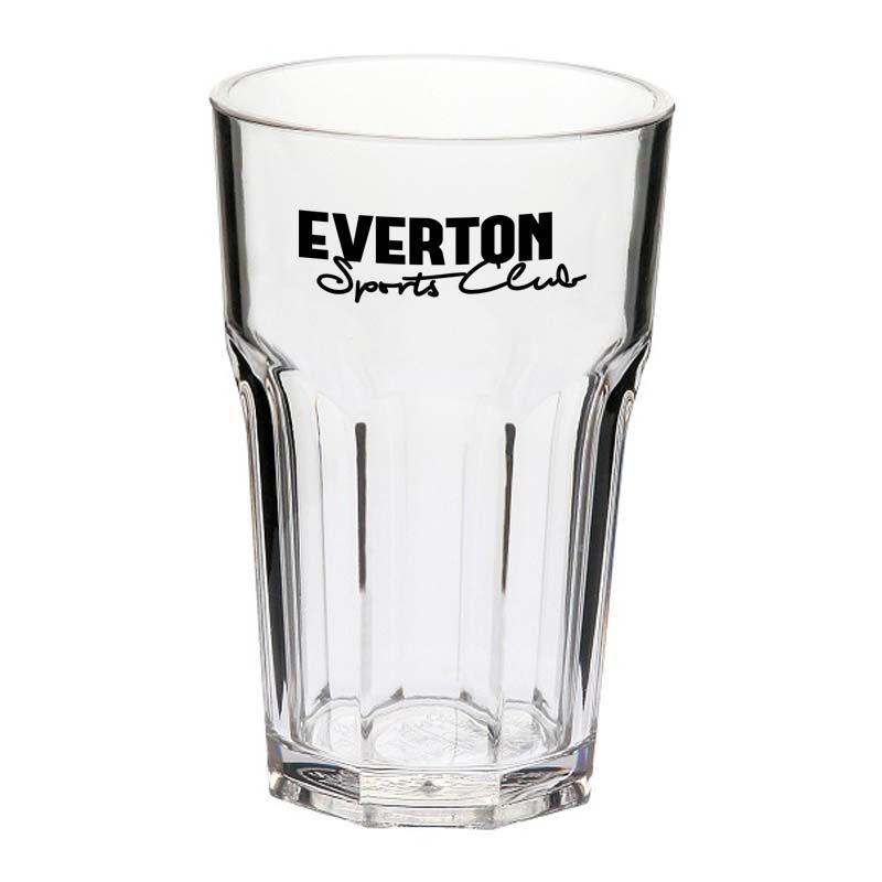 GLPC852797P 285ml Casablanca Custom Polycarbonate Glasses