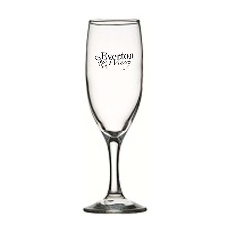 GLWG744019 190ml Crysta III Flute Promotional Wine Glasses
