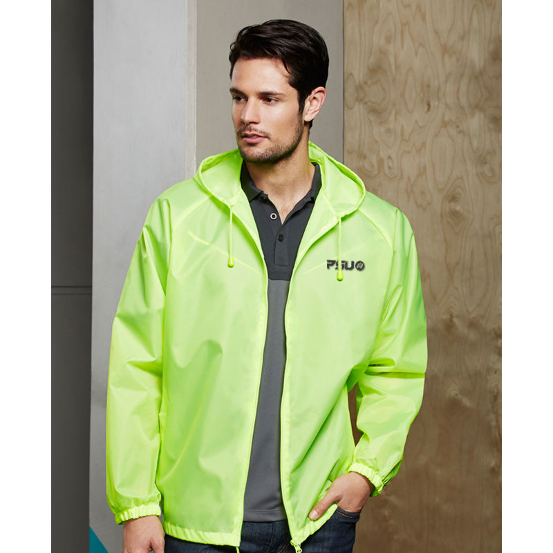 J123ML Unisex Base Embroidered Water Proof Jackets