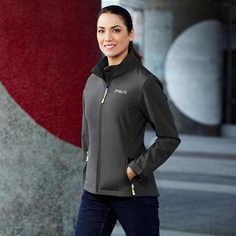 J740L Ladies Apex Custom Softshell Jackets