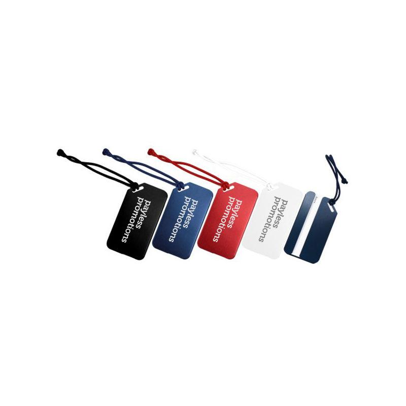 JK054 Aluminium Custom Luggage Tags