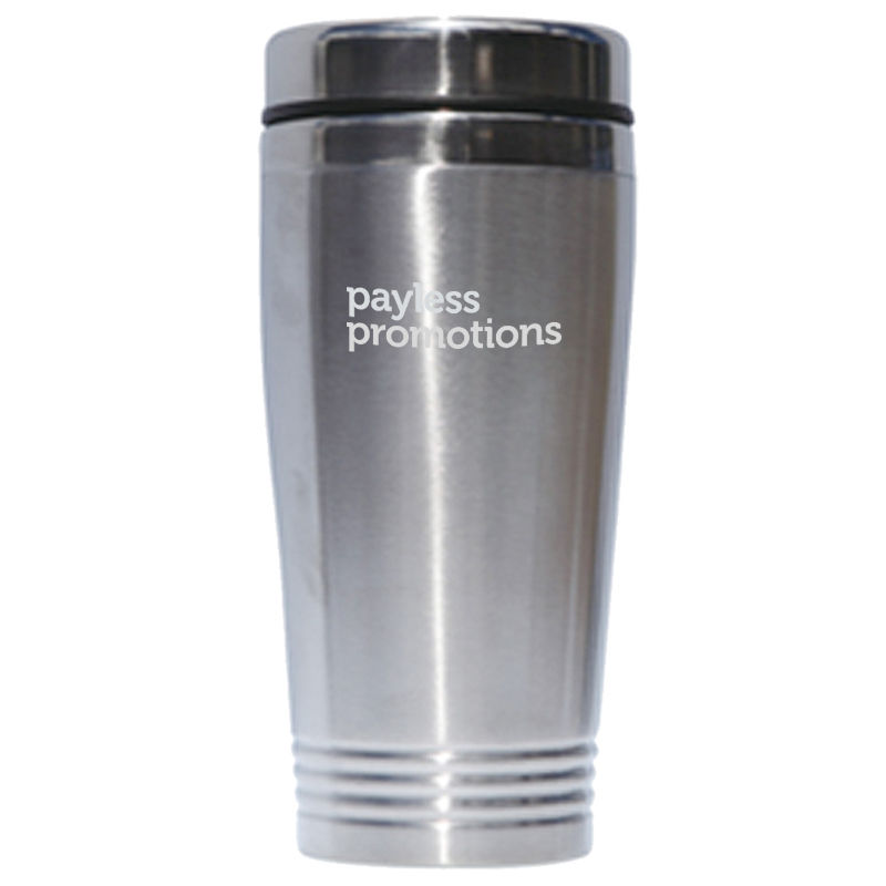 JM002 420ml Printed Stainless Travel Mugs