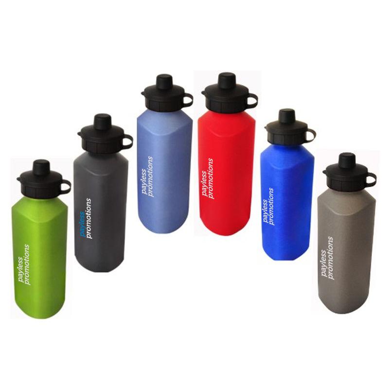 JM017 Promotional Triangular Aluminium Sports Drink Bottles