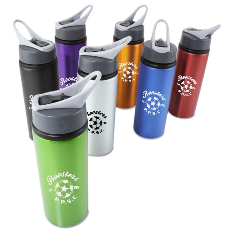 JM045 Promotional 700ml Stylist Aluminium Sports Drink Bottles