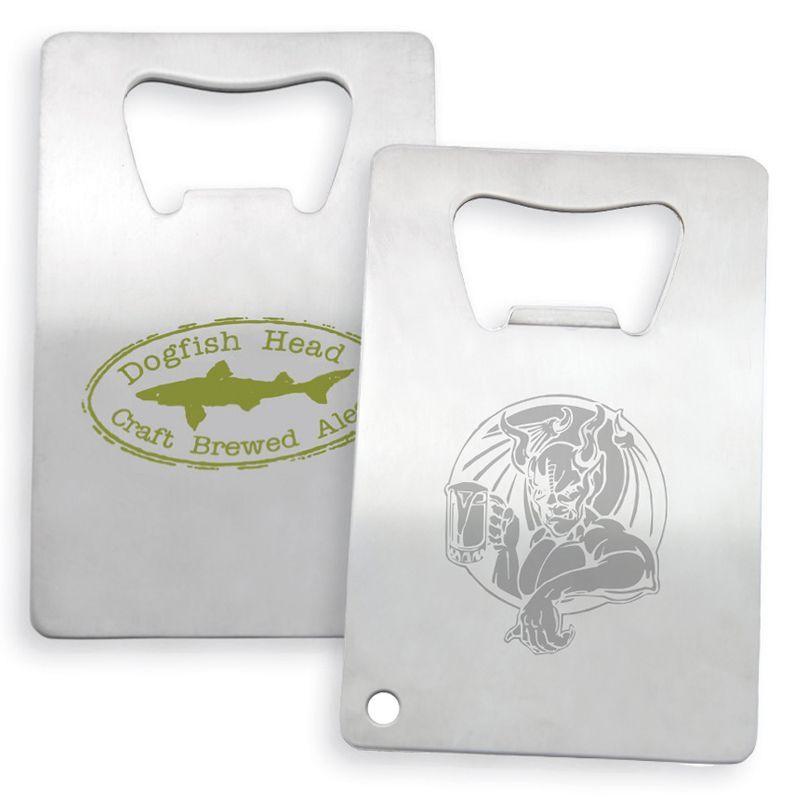 K277 Stainless Steel Credit Card Custom Bottle Openers