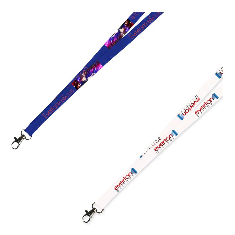 LANHEAT10 Promotional 10mm Polyester Neck Lanyards Printed Full Colour