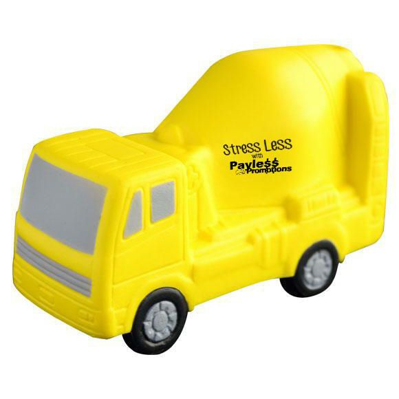 S100 Cement Truck Branded Trades Stress Balls
