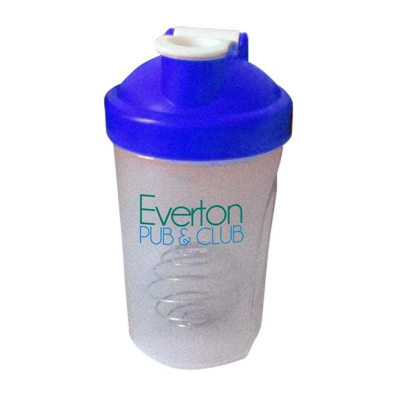 LPS400F 400ml Logo Protein Shakers With Mixing Ball