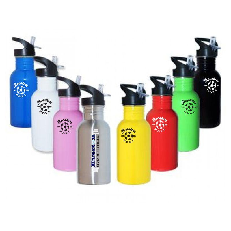 M35 Printed 500ml Walker Stainless Steel Drink Bottles