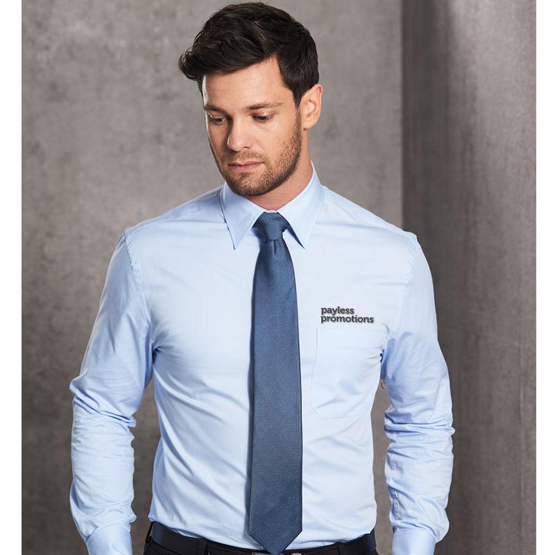M7030L Comfort Embroidered Business Shirts - Benchmark Range