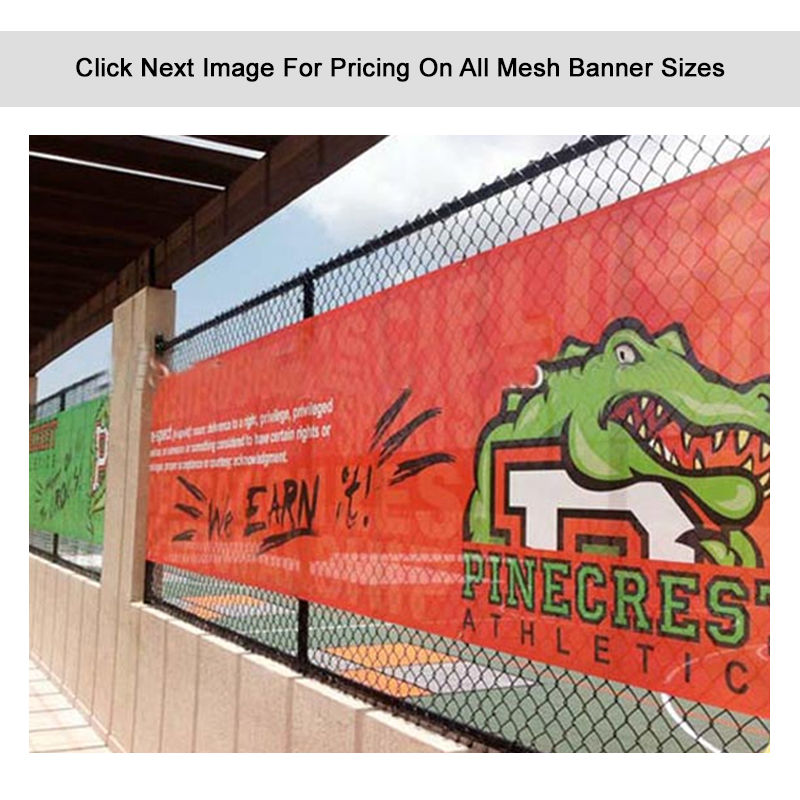MB Personalised Mesh Banners