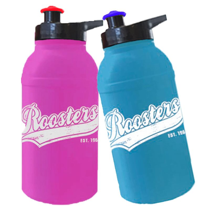 MN500EG Junior Pop-Top Promotional Plastic Sports Drink Bottles With Ezy Grip Lid - 500ml