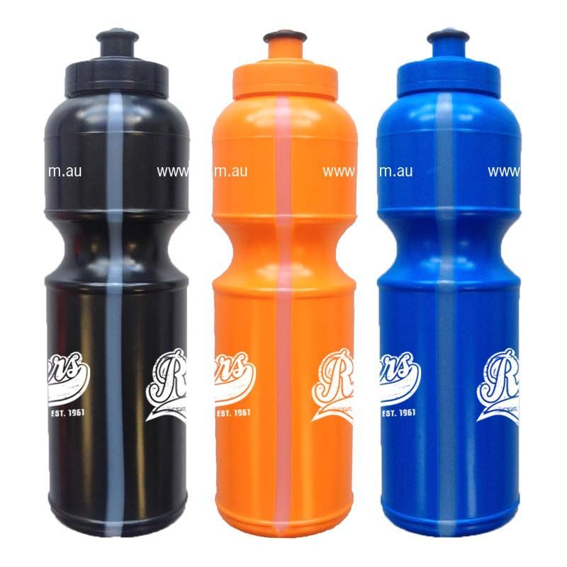 MN800VS Hydrate Pop-Top With View Strip Business Plastic Drink Bottles - 800ml