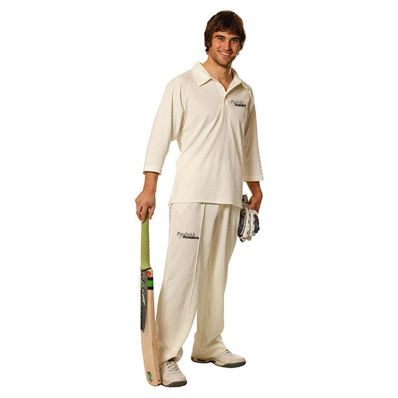 PS29Q TrueDry Mesh Knit, 3/4 Sleeve Cricket Jerseys
