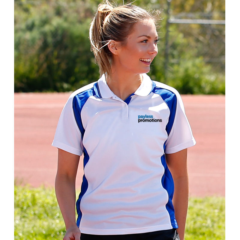 PS50 Ladies Mascot CoolDry Printed Polos