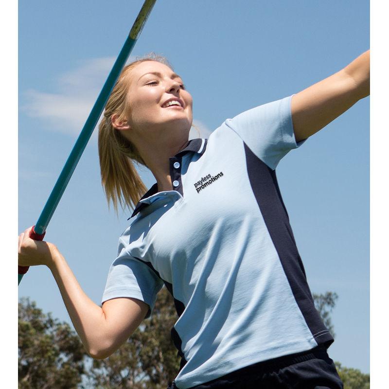 PS74 Ladies Teammate TrueDry Uniform Polo Shirts