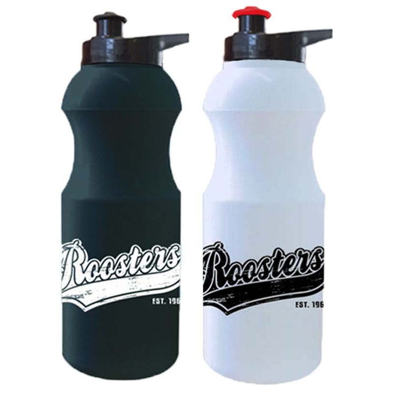 R600EG Retro Pop-Top Branded Plastic Sports Drink Bottles With Ezy Grip Lid - 600ml