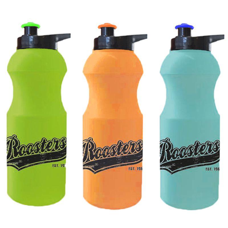 R600EG-T Retro Translucent Pop-Top Business Plastic Sports Drink Bottles With Ezy Grip Lid - 600ml