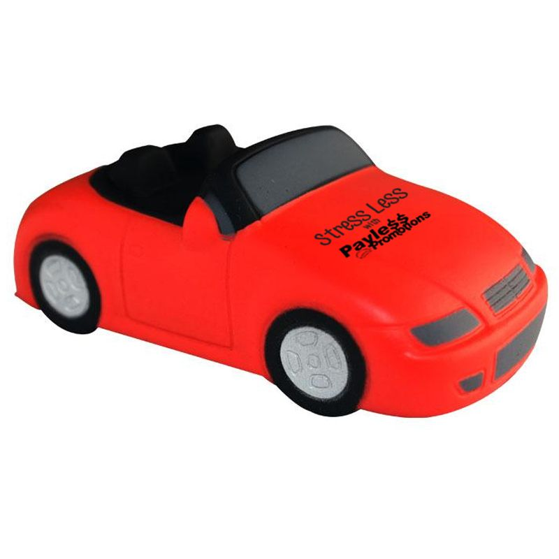 S102 Sports Car Red Promotional Transport Stress Shapes