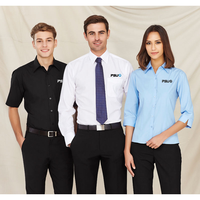 S10521 Ladies Base Embroidered Business Shirts