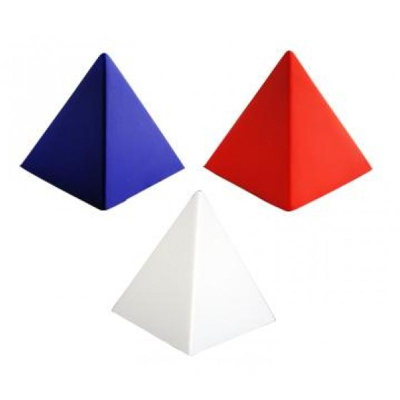 S167 Pyramid Promotional Shapes Stress Balls