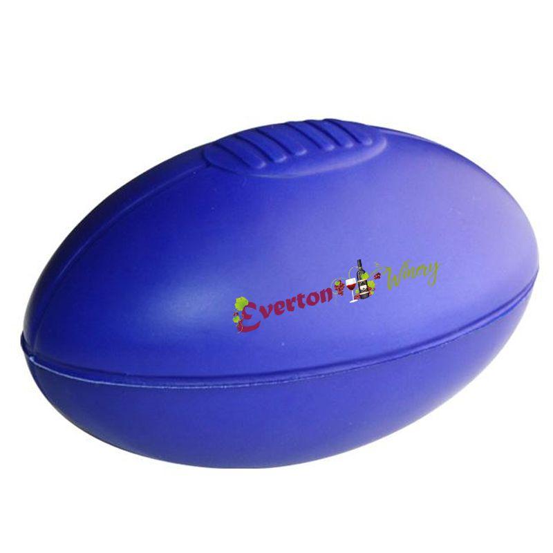 S20 Sherrin Blue Promotional Sports Stress Shapes