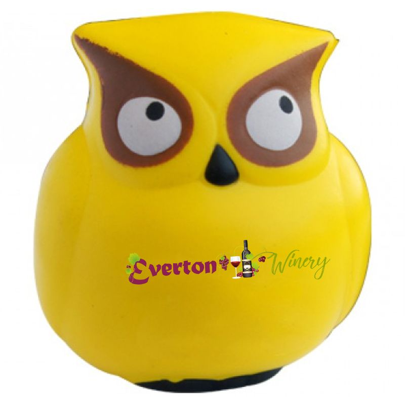 S219 Owl Promotional Animal Stress Balls