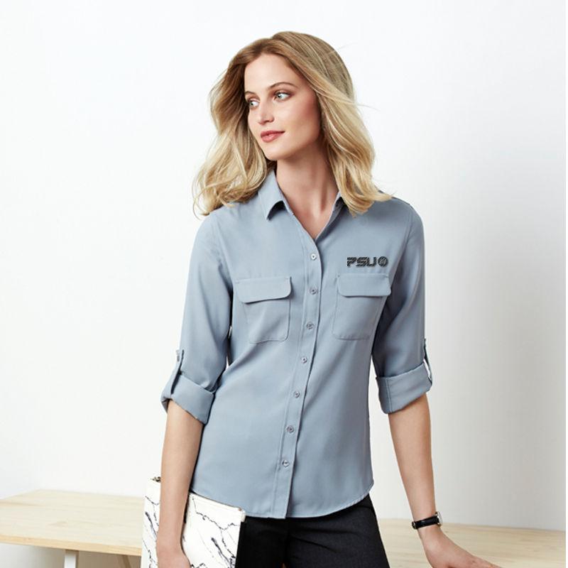 S626LL Long Sleeve Madison Logo Dress Shirts