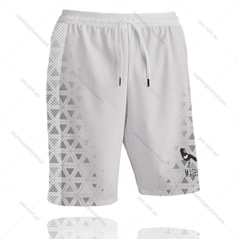 SH11-K Kids Full-Custom Sublimation Running Shorts With Pockets - X Series Elite