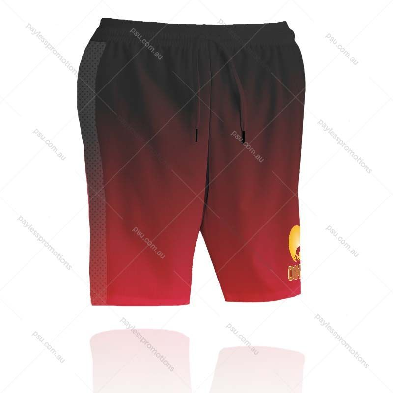 SH3-L Ladies Full-Custom Sublimation Long Running Shorts (No Pockets) - X Series Elite