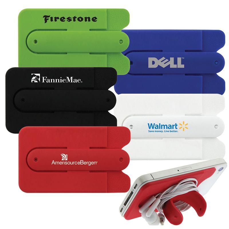 T553 Kickstand Smart Printed Phone Wallets