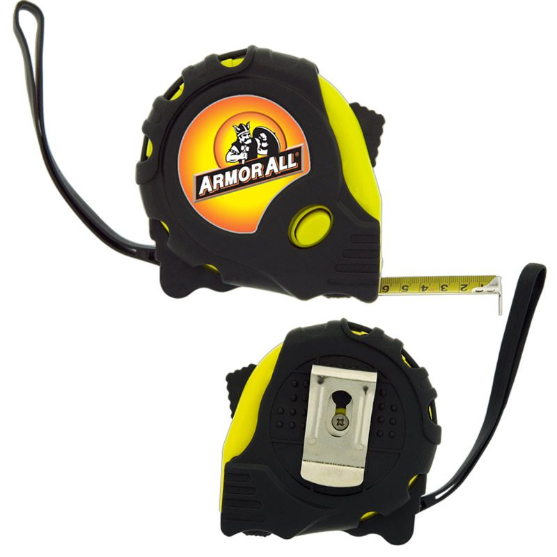 T566 Retractable Foreman Promotional Tape Measures (7.6m) With Wrist Strap