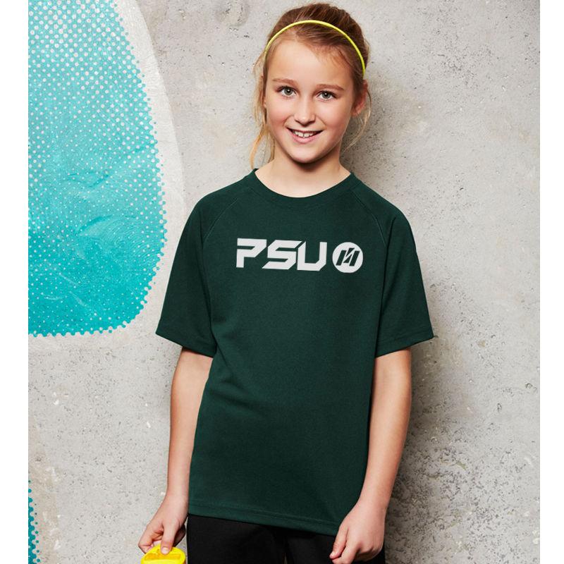 T301KS Kids Sprint CoolDry Logo Tees