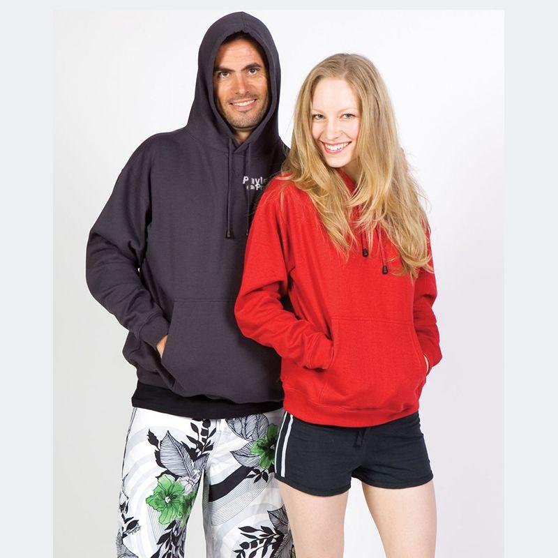 TP212H Polyester Rich Custom Pocket Hoodies