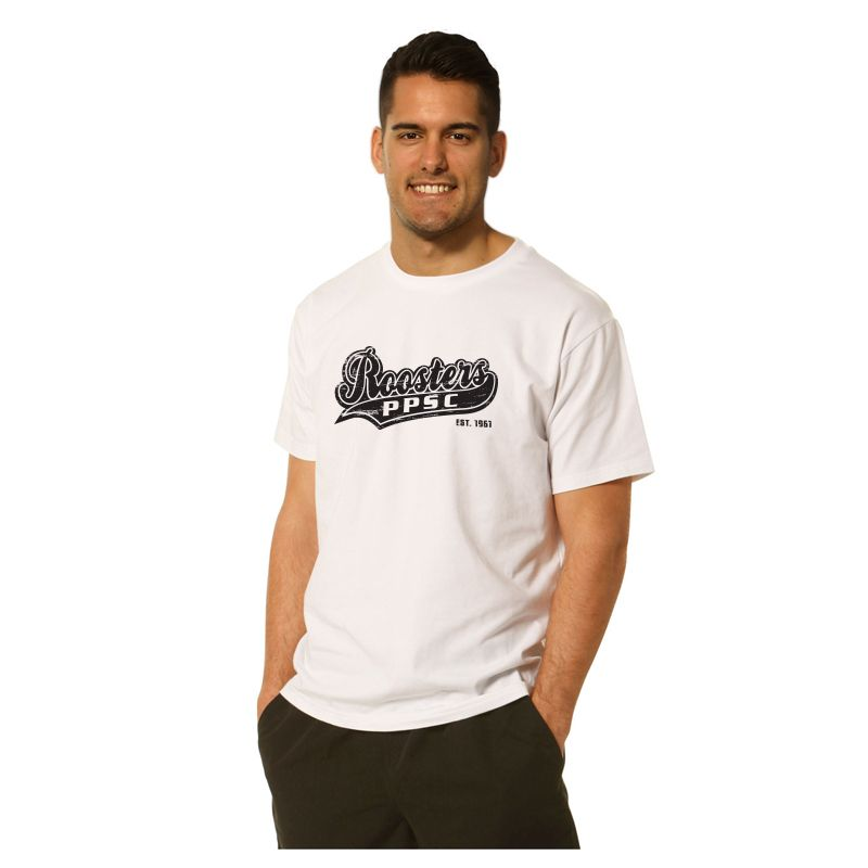 TS16 Modern-Fit 100% Cotton Custom Tees With Stretch