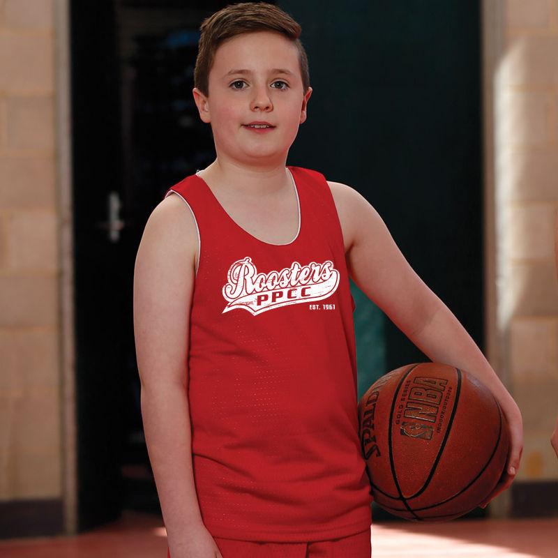 TS81K Kids Airpass CoolDry Reversible Basketball Jerseys