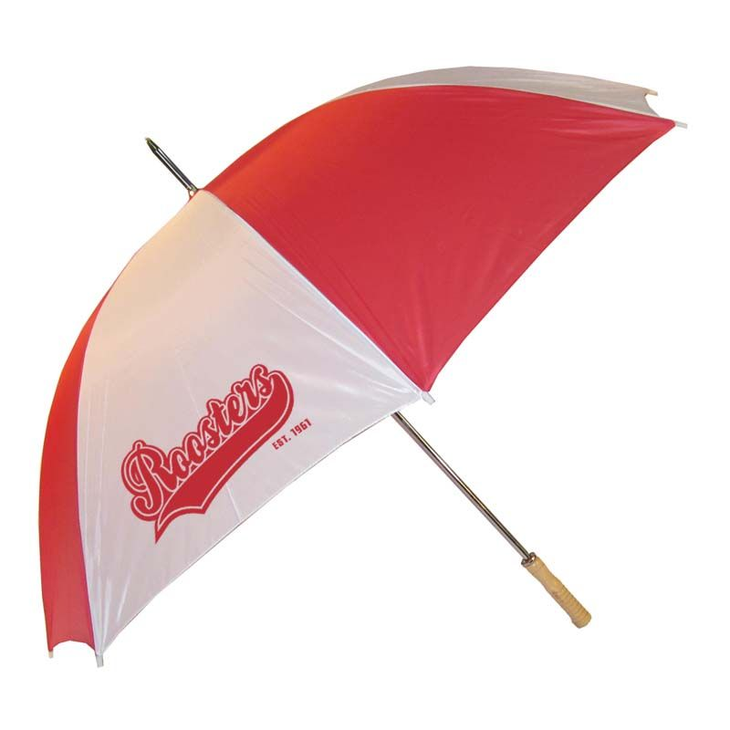 WG0015 Rookie (Budget) Promotional Golf Umbrellas With Steel Shaft & Ribs