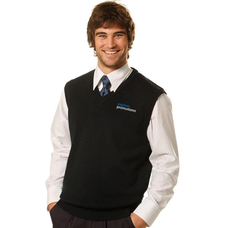 WJ02 Wool Blend Uniform Knitted Vests