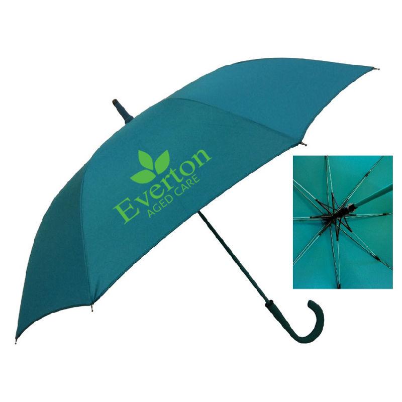 WL036 Manhattan Logo Corporate Umbrellas