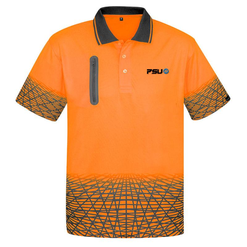ZH300 Tracks Branded Hi Vis Polo Shirts