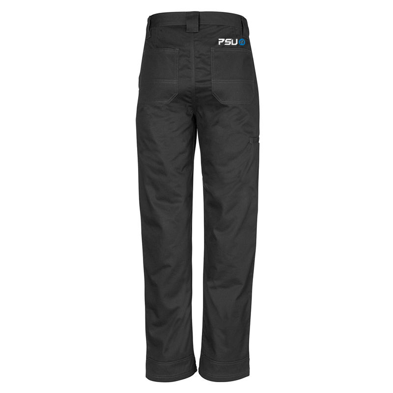 ZW002 Plain Utility Logo Workwear Pants