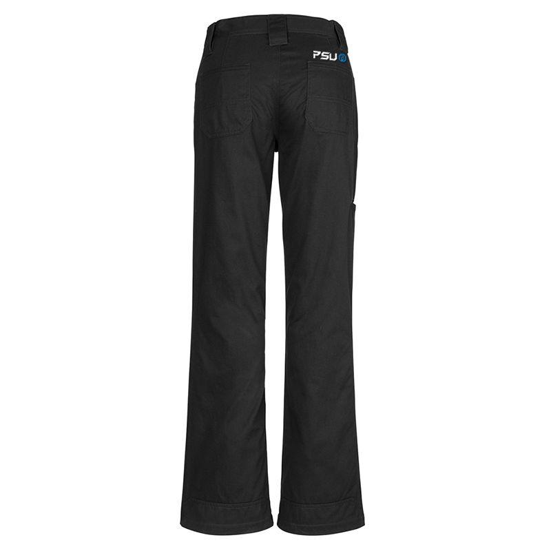 ZWL002 Ladies Plain Utility Logo Work Pants