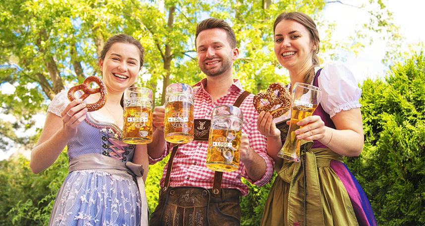 All Oktoberfest Beer Mugs & Glasses