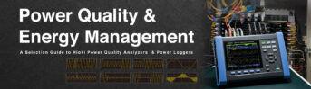 Pilihan untuk Hioki Power Quality Analyzers & Power Loggers