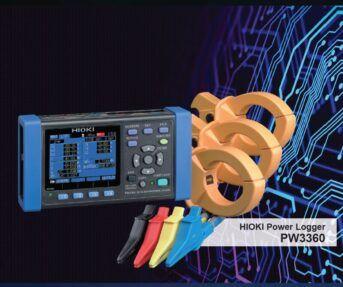 Hioki Clamp on Power Logger PW3360
