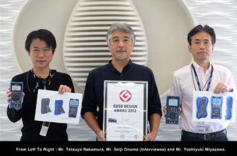 Tim Kreator dari Hioki Jepang untuk Hioki Digital Multimeter Seri DT4200